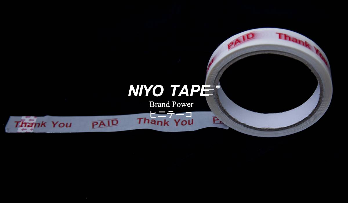 OPP PRINTED (THANK YOU) TAPE