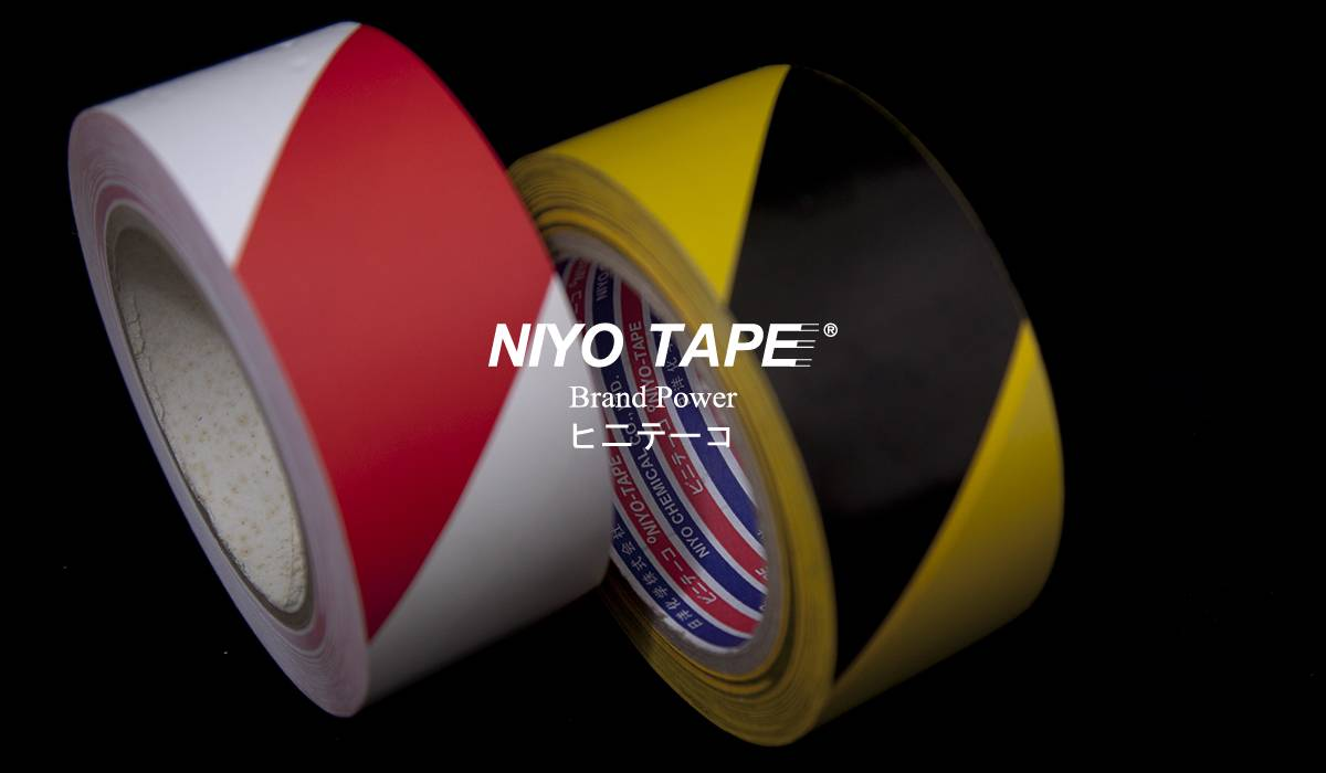 NIYO FLOOR MARKING TAPE (2 COLOURS)