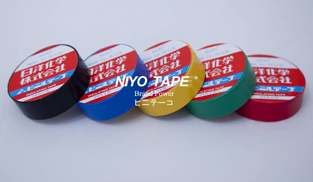 NIYO INSULATION WIRE TAPE (COLOURS)